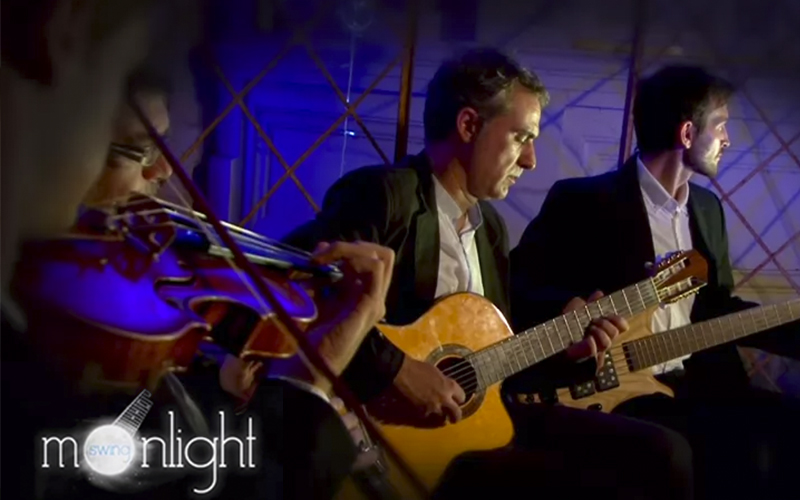 V deo presentaci n para grupo de m sica moonlight swing for Moonlight iluminacion