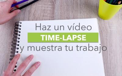 Cómo hacer un time lapse con el móvil para fascinar a tus clientes con tu proceso creativo