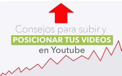Cómo subir vídeos a Youtube y mejorar su posicionamiento