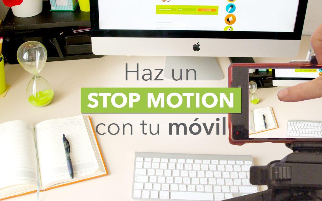 como hacer un stop motion