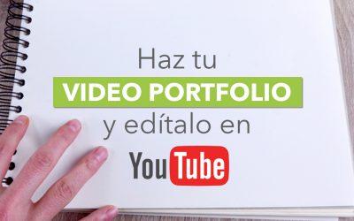 Cómo hacer un vídeo portfolio para mostrar tus trabajos