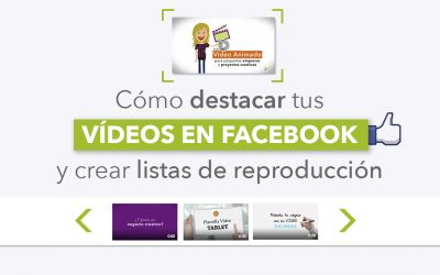 Cómo destacar vídeos en facebook y crear listas de reproducción en tu fan page