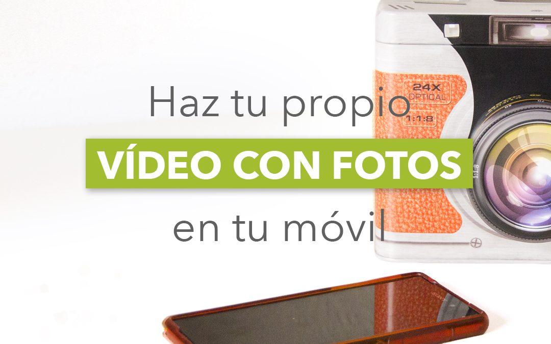 Cómo hacer un vídeo con fotos y música en el móvil